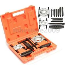 12pcs Bearing Splitter Gear Puller Fly Wheel Separator With Case Box Tool Set