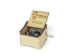 Bethoven - Für Elise / Personalized Hand Crank Music Box