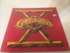The Commodores X Heroes Vinyl LP Record gatefold coverno holes/notch NEW SEALED!