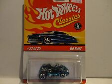 Hot Wheels Classics Series 1 #22 Blue Go Kart
