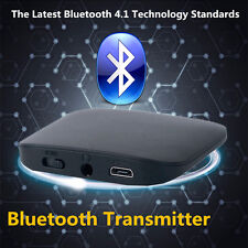 Q16 Bluetooth Transmitter Audio Player 3.5mm Wireless Adapter for TV PC DVD MP3