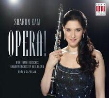 SHARON KAM/WKO - OPERA!  CD  15 TRACKS ROSSINI/VERDI/WOLF-FERRARI/+  NEU