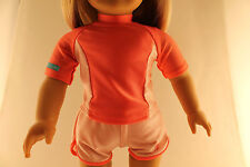 American Girl Swim Shirt And Shorts Set - Store Exclusive