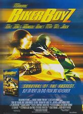 Biker Boyz Derek Luke 2003 Magazine Advert #7679
