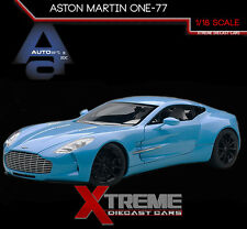 AUTOART 70240 1:18 ASTON MARTIN ONE-77 (TIFFANY BLUE) SUPERCAR