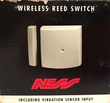 NESS Wireless Reed Switch 106-065  aka: RR2, New In Box No Paperwork