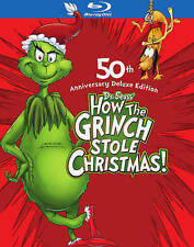 How the Grinch Stole Christmas (Blu-ray Disc 2009 2-Disc Set Deluxe Edition) NEW