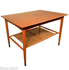 table d'appoint de style scandinave en teck.Made in Sweden vers1970
