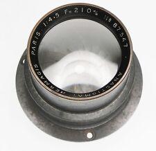 Hermagis 210mm f4.5 Anastigmat Barrel Lens  #87547