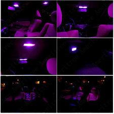 For Mazda CX-5 2013-2016 Pink LED Interior Kit + Xenon White License Light LED