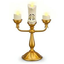 Disney Parks Beauty & Beast LUMIERE Light Up Candle Candelabra Figurine SOLD OUT