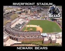 NEWARK BEARS Riverfront Stadium  Souvenir Fridge Magnet