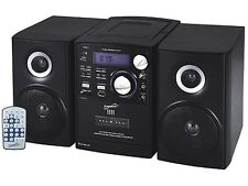 Supersonic SC-807 Shelf MP3/CD Player +Bluetooth +AM/FM Radio +Cassette Recorder
