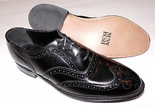Nunn Bush Men's Black Cambridge Oxford Leather Dress Shoes Size 7.5 D USA