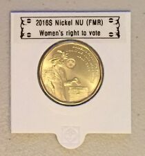 CANADA 2016 - 1 dollar LOONIE Women's right to vote (directly from mint roll)