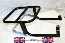 NEW HONDA C50 C70 C90 CUB SQUARE HEADLIGHT MODEL REAR LUGGAGE RACK CARRIER BLACK