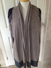 Paul Costelloe Ladies Long Waterfall Cardigan Size 2. Great Condition.