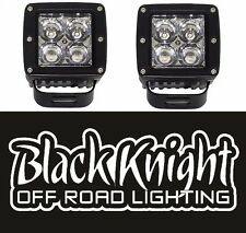 "2 qty-Black Knight Lighting 3"" LED Pods/Cubes"