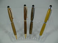 1 x Wooden Ball Point Twist iPad Tablet Stylus Luxury Pen Australian Hand Made
