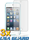 3x Apple iPod Touch 5 5th Gen Clear LCD Screen Protector Guard Shield Cover Film