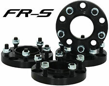 COMPLETE SET SCION FR-S FRS 5x100 BLACK HUB CENTRIC 56.1 WHEEL SPACERS/ADAPTERS