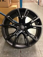 "4 NEW JEEP SRT8 20"" Wheels Matte Black 5x115 OE Dodge Charger Challenger 300"