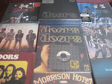 THE DOORS 7 LP BOXSET 180 GRAM SEALED + BACK UP 7 LP + SINGLE + LIVE LPS + CDS