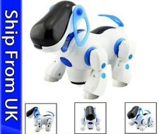 I ROBOT DOG Walking Nodding Childrens Kids Toys Blue/pink Puppy Electronic Dog