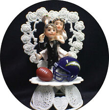 San Diego Charger Football Team Wedding Cake Topper Top funny NFL fan