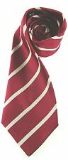 DUKE OF WELLINGTON WEST RIDING REGIMENT  WOVEN STRIPE  UK MADE MILITARY TIE