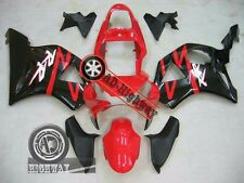 ABS Plastic Bodywork Fairings For Honda CBR954RR Red Black CBR 954 RR 2002 2003