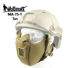 Tactical CS Paintball Airsoft Outdoor Hunting Military Half Face Conquerors Mask