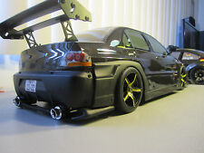 Mitsubishi Evo 8 WIDEBODY Custom 1/10 Scale Remote Control Onroad  Drift Car