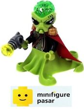 ac011 Lego 7065: Alien Mothership - Alien Commander Minifigure with Weapon - New