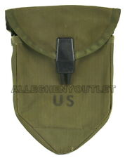 US Military Vietnam Era M-1967 Nylon Tri Fold Shovel E-Tool CARRIER COVER VGC