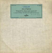 disque 25cms: Maria Callas: airs d'opéras. columbia