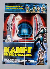 Kampf um die 5. Galaxis / THE HUMANOID - A1-FILMPOSTER EA - Ger 1Sheet 1979