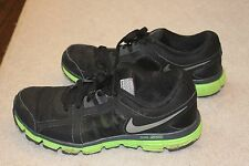 Nike Dual Fusion ST2 H2O Repel Shoes Black Green Size 10 541002-003
