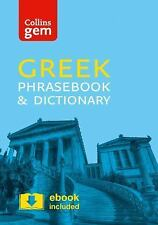 Collins Gem: Greek Phrasebook and Dictionary by Collins Dictionaries Staff...