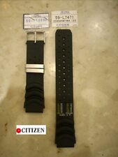 CITIZEN  cinturino caucciu'  originale 20 mm