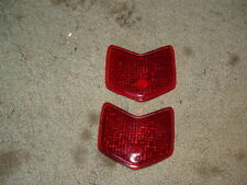 1940 FORD ChevronTail light lens,qty2, ratrod,hotrod,streetrod,flathead,221,59ab