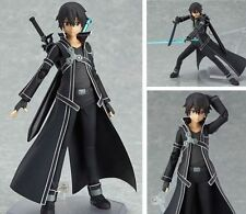 SAO Sword Art Online Kirigaya Kazuto Kirito Figma PVC Action Figure New In Box