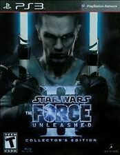 PS3 Star Wars the Force Unleashed II Collectors Edition Brand New Factory Sealed