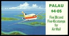 """PALAU C20b - Aircraft """"Cessna 207/Boeing 727 - Booklet of Ten"""" (pa32719)"""