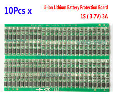 10PCS 3.7V 3A Li-ion Lithium Battery 18650 Charger Over Charge Protection Board