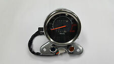 XTREME-in CHROME FINISH SPEEDOMETER FOR UNIVERSAL BIKES (0-140KMPH)