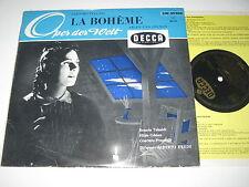 """10""""/PUCCINI/LA BOHEME/TEBALDI/GÜDEN/EREDE/Decca LW 50506"""