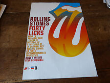 THE ROLLING STONES - ADVERT!!!!! FORTY LICKS !!! 2002 !!!!!