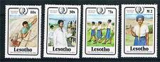 Lesotho 1985 Youth Year/Girl Guides SG 652/5 MNH