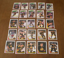1987-88 & 1988-89 OPC VANCOUVER CANUCKS TEAM SETS